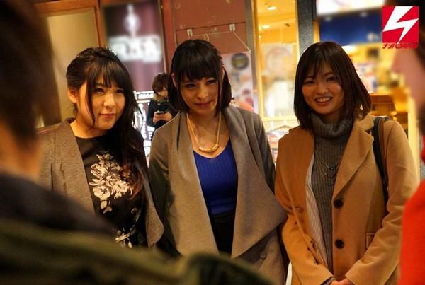 上京したての女子大生はガードが緩い!?ナンパ師に流されてパコパコしちゃう巨乳娘達!